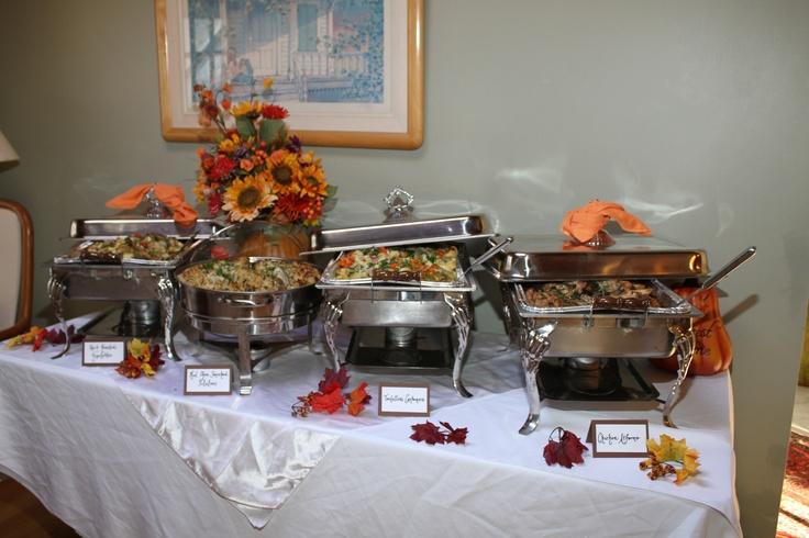 dinner   company buffet set up banquet tips   tricks