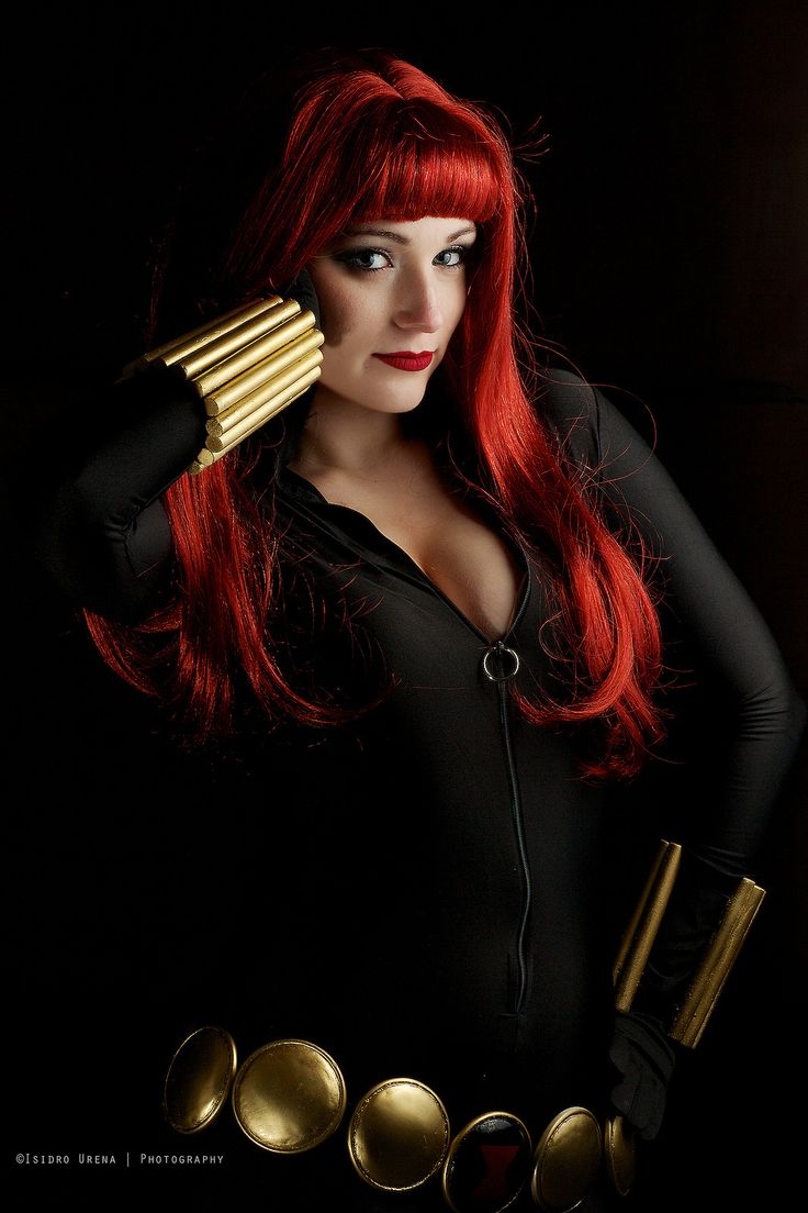 Black widow marvel cosplay - photo#23