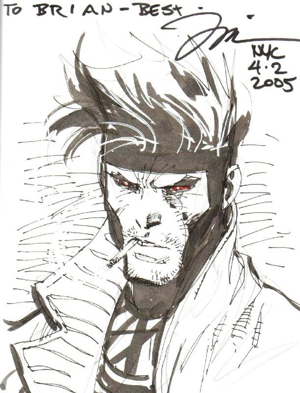 Gambit Comic Art Gambit by jim lee