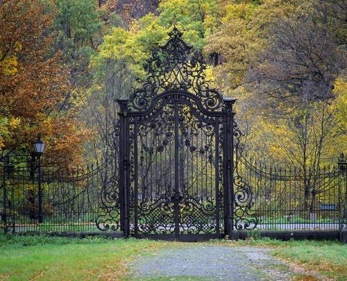 Gothic gate gates pinterest