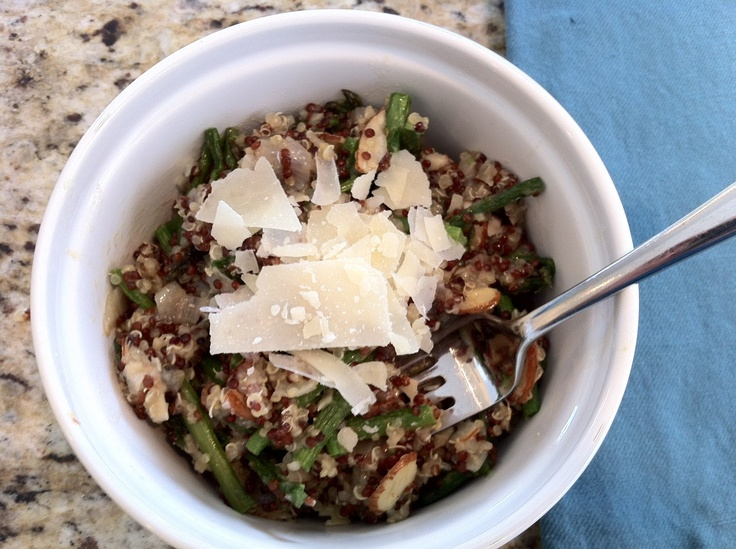 Quinoa Salad with Roasted Asparagus | Food | Pinterest