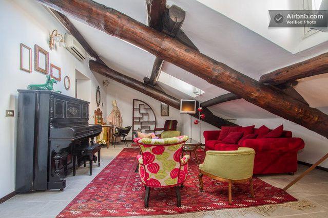 Il soggiorno e la zona . Milan £48 per night