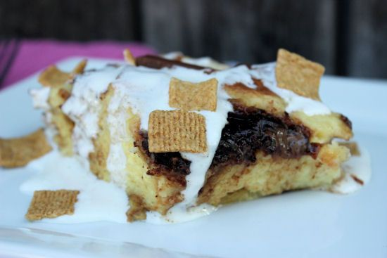 mores Bread Pudding | S'mores Recipes | Pinterest