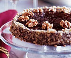 walnut raspberry tart | Chocolate & Walnut Torte with Raspberry ...