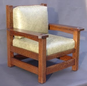 Gustav Stickley Accurate Replica Eastwood Chair