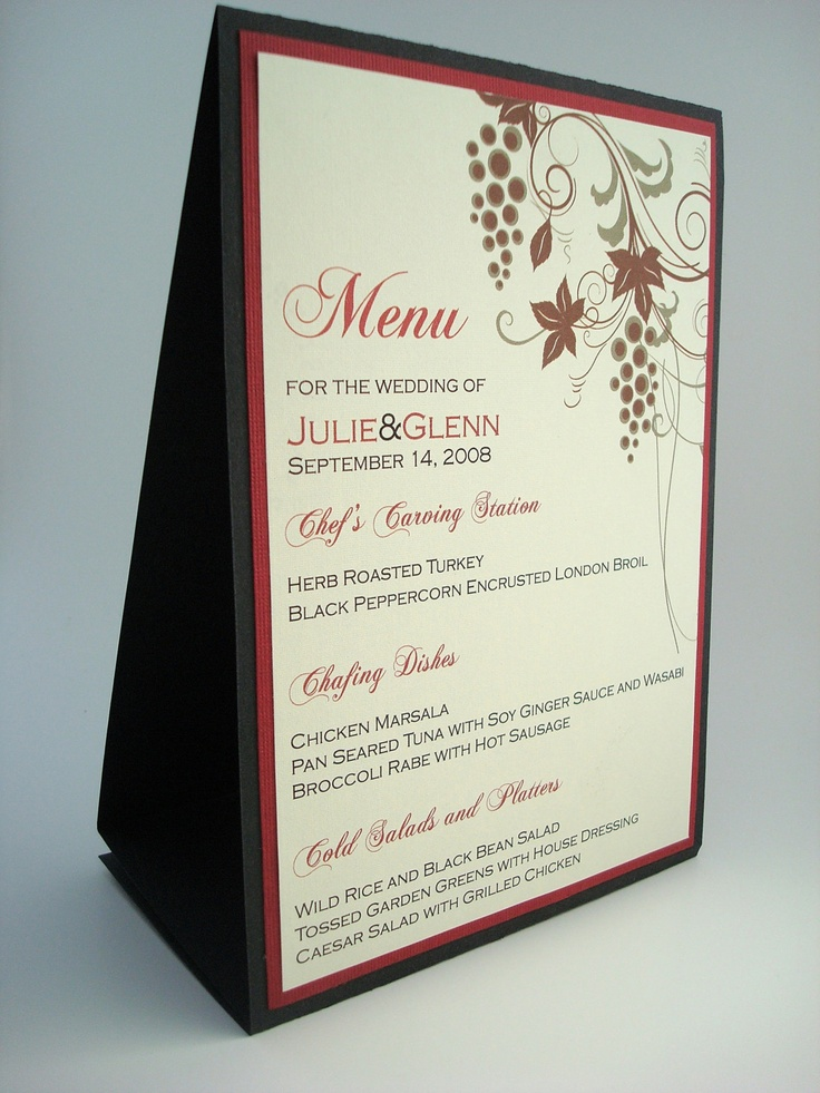 father's day party menus