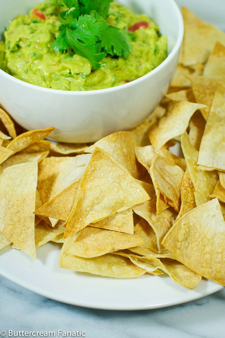Healthy Homemade Baked Tortilla Chips | A Clean Bake | Pinterest