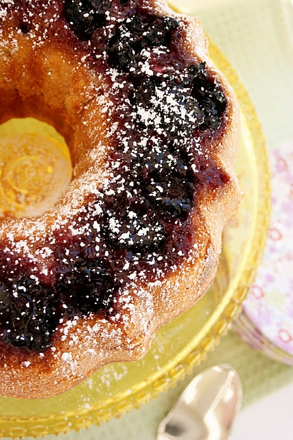 Blackberry Buttermilk Bundt Cake: This is definitely on my list to try ...