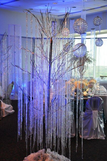 Winter wonderland decorations we could use the big cls manzanita tree