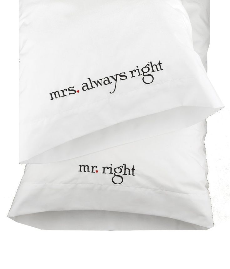 ... Right and Mrs Always Right - perfect anniversary gift for every year