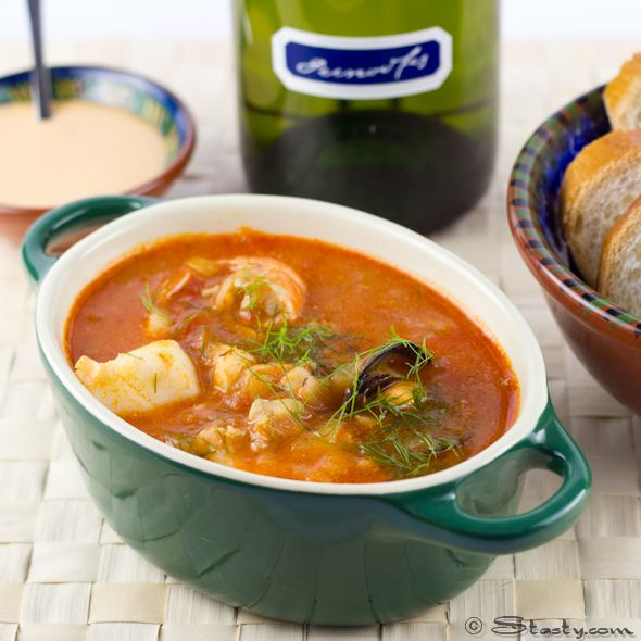 Bouillabaisse recipe dishmaps for French fish stew
