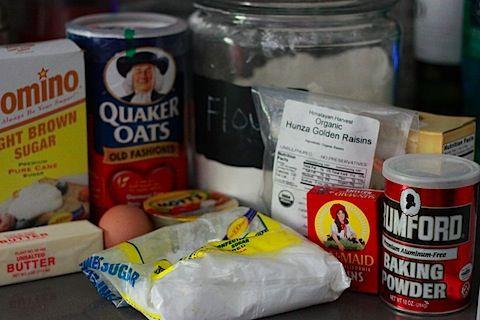 Iced Oatmeal-Applesauce Cookies | food | Pinterest
