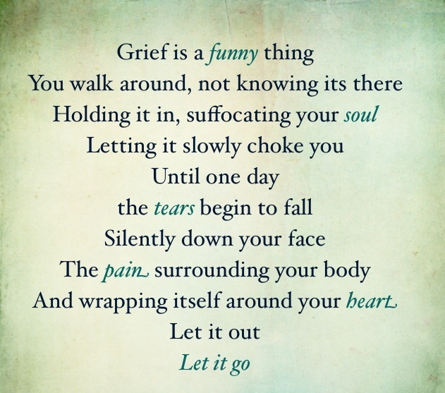 Grief. -N.E.H
