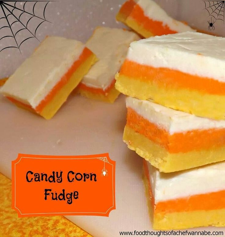 Candy corn fudge | Crafty Things | Pinterest