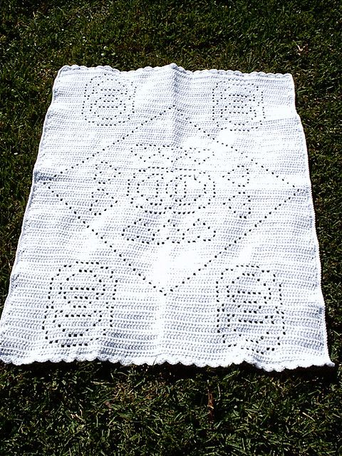 Free Crochet Pattern Wedding Afghan : Pin by Bea Luvs Crochet on Crochet -- Filet Pinterest