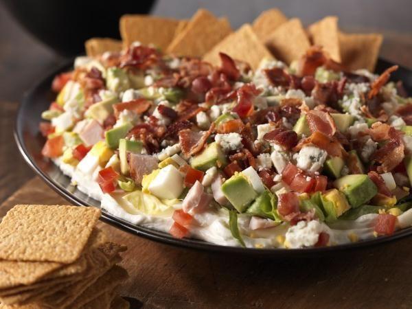 Cobb Salad Dip | KitchenDaily.com