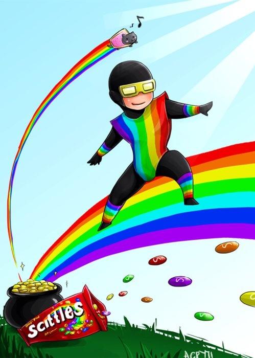 YEAH  TASTE THE MOTHER F CKIN  RAINBOW Taste The Rainbow Mother F