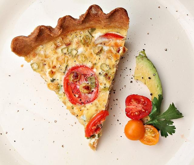 corn and tomato pie | Favorite Recipes | Pinterest