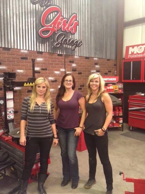 All girls garage all girls garage on the