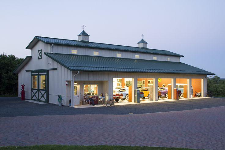 20 fresh hobby garage home plans blueprints 77942 for Morton building designs
