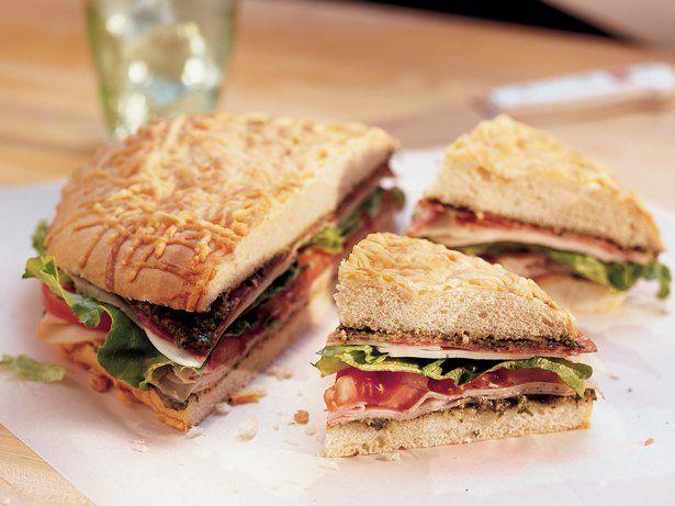 Layered Italian Sandwich | Recipe