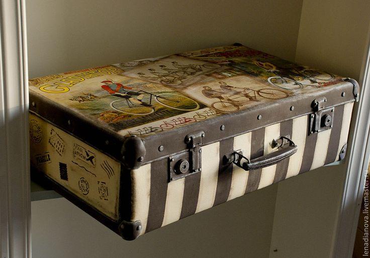 Декор чемодан своими руками 238