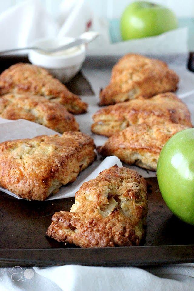 apple cheddar scones. | Eat It! | Pinterest