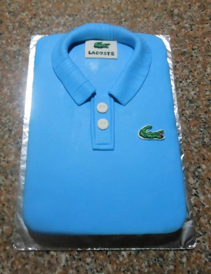 Cake Design Shirts : Lacoste cake Cake ideas Pinterest
