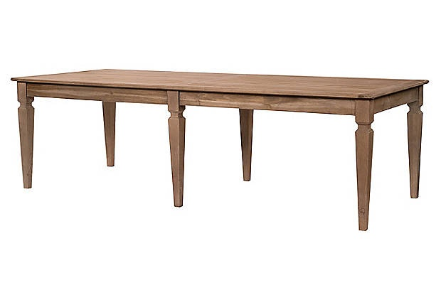 Porter Dining Table Toffee