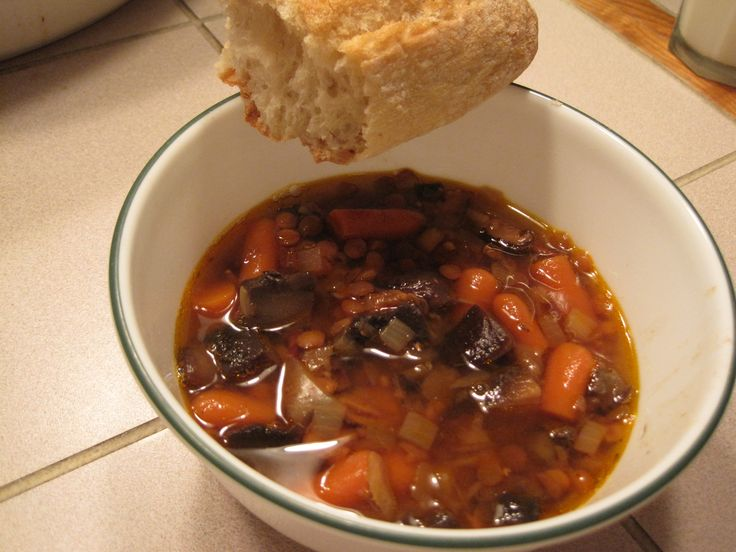 Ultimate Lentil Soup (from Slow Cooker Revolution by America's Test ...