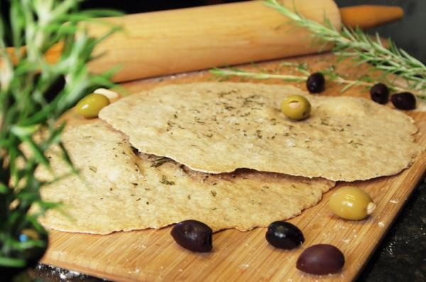 Crisp Rosemary Flatbread | Cooking and Baking | Pinterest