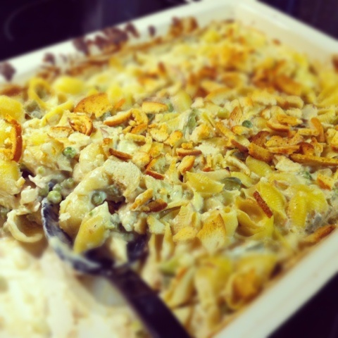 Tuna Noodle Casserole | Food | Pinterest