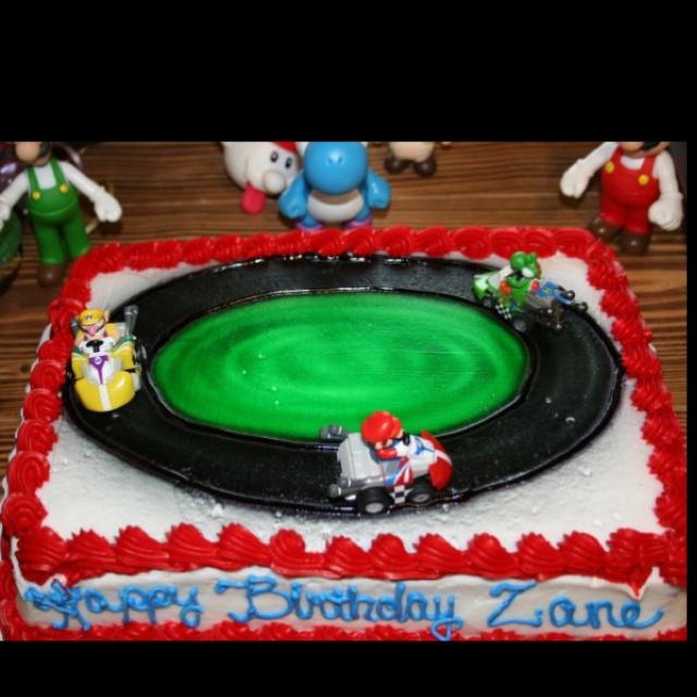 Mario Bros Cake By HEB