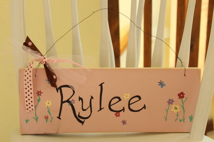 Cute sign for a little girl 39 s room pallet signs pinterest for Signs for little girl rooms