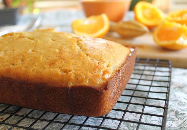 Orange Pound Cake. A sweet orange cake with an orange glaze. Perfect ...