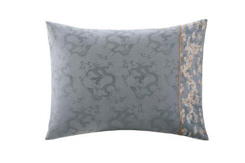 Natori bushido pillowcase flannel grey queen 20x32 quot by natori