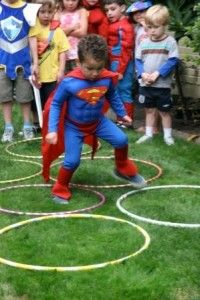 hero themed party games