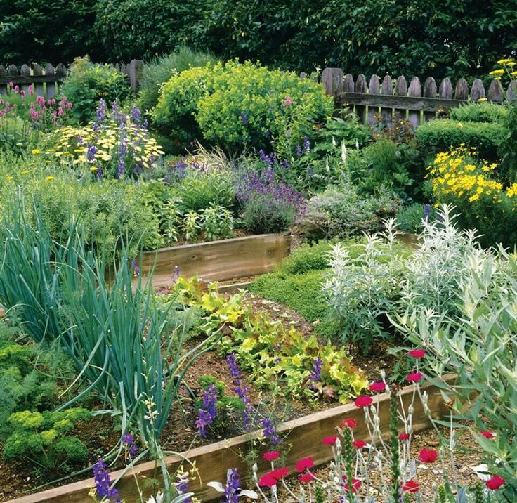 Ideas for vegetable garden layout Potager Kitchen and