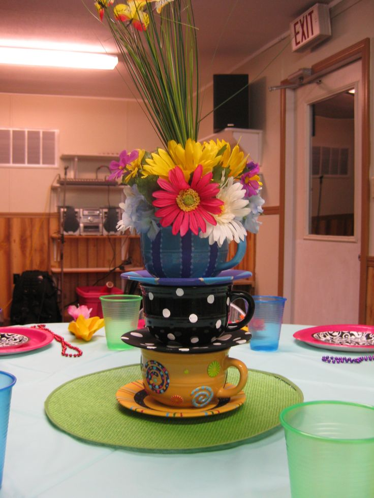 Tea party decorations my fun projects pinterest for Tea party decoration ideas