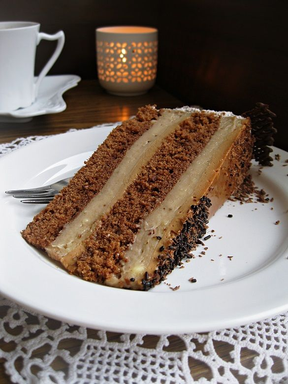 Banana & Caramel cake | Cakes | Pinterest
