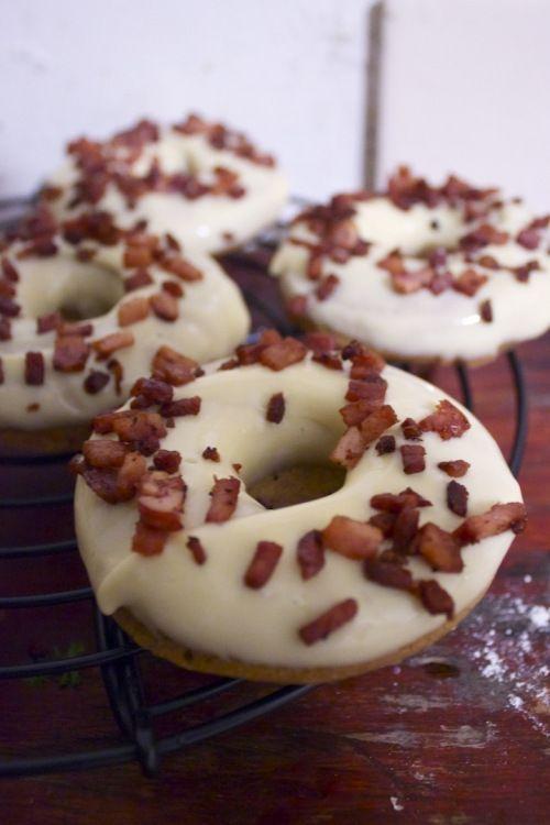 Maple. Bacon. Doughnuts. | Bacon on everything | Pinterest