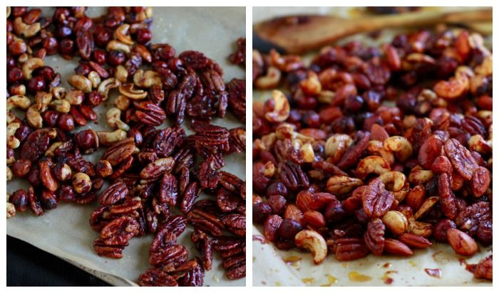 Savory Sweet Spiced Holiday Nuts | Recipe