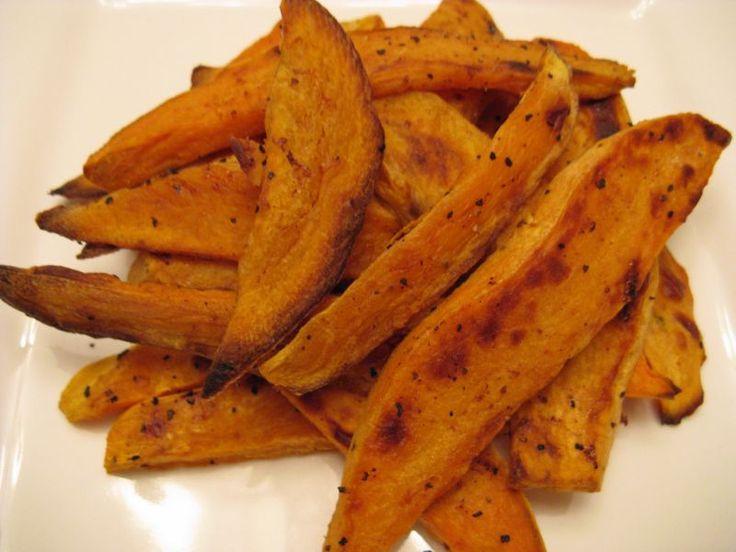 Baked Sweet-Potato Fries Recipe — Dishmaps