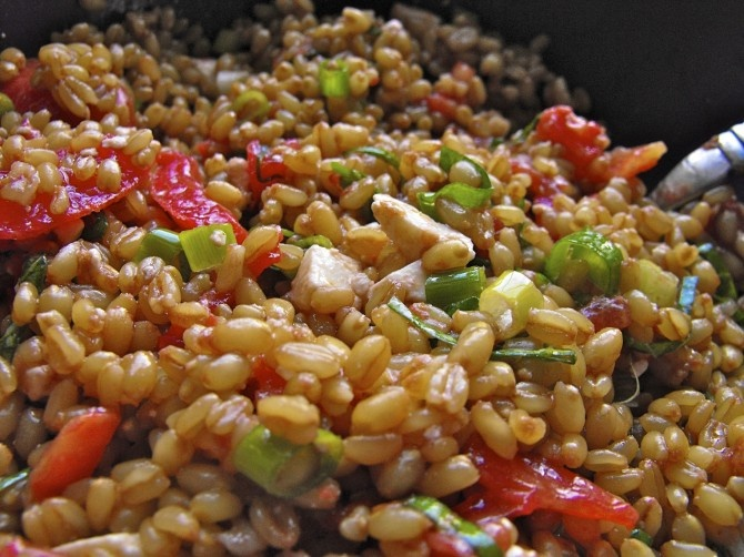 Wheat Berry Salad | Food and Drinks | Pinterest