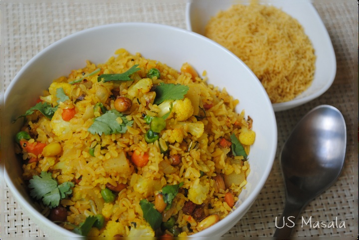 Vegetable poha | Food Fetish III | Pinterest