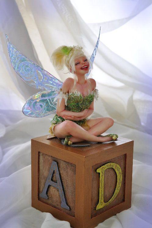 Tinkerbell Tinker bell laugh by SutherlandArt.deviantart.com on @deviantART