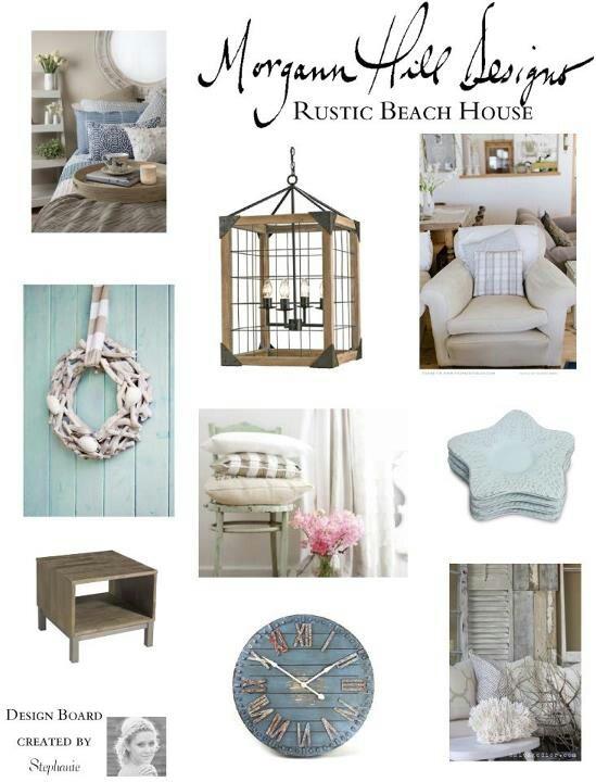 Rustic beach house decor RUSTIC Pinterest