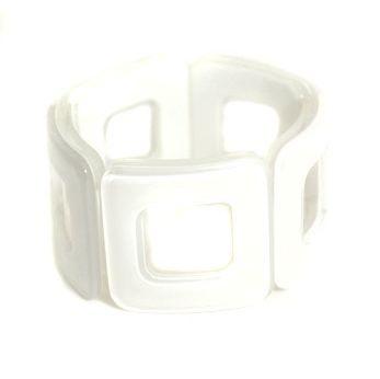 Room For Squares Bracelet - White