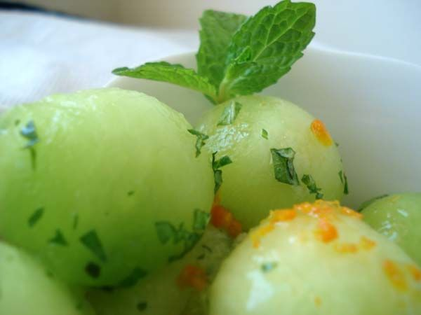 Citrus Mint Salad Recipe — Dishmaps
