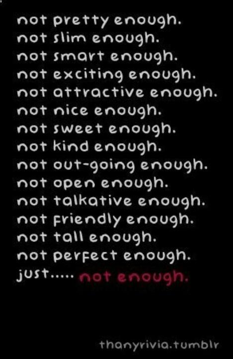 Never Being Goo...